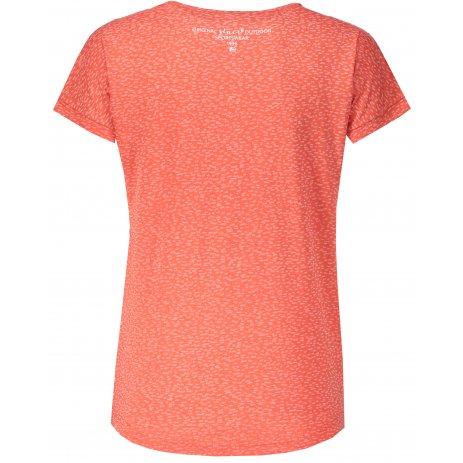 Dámské tričko s krátkým rukávem ALPINE PRO HARISA 2 LTSN420 ORANŽOVÁ