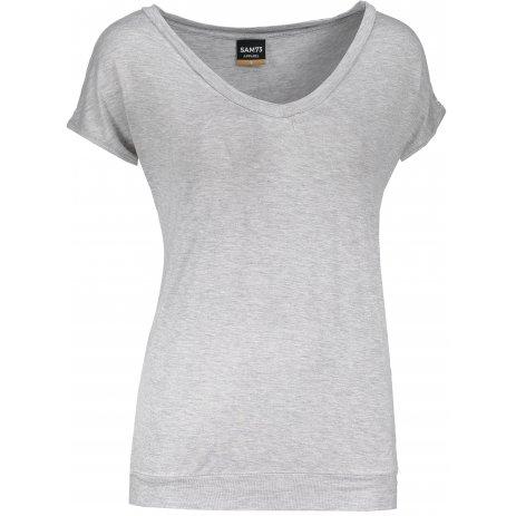 Dámské triko s krátkým rukávem SAM 73 WT 774 SVĚTLE ŠEDÁ