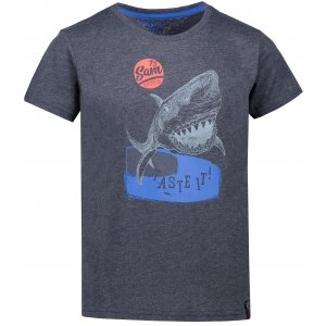 Chlapecké triko SAM 73 CARLISO KTSN179 TMAVĚ MODRÁ