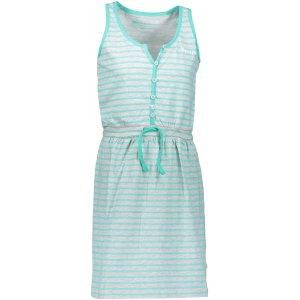 Dívčí šaty ALPINE PRO GOGO KSKN049 ŠEDÁ
