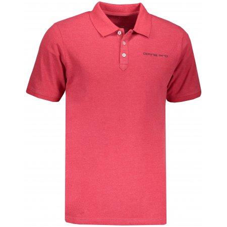 Pánské triko s límečkem ALPINE PRO TONRAR MTSN437 RŮŽOVÁ