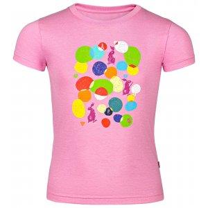 Dětské tričko s krátkým rukávem ALPINE PRO AXISO 3 KTSN154 RŮŽOVÁ
