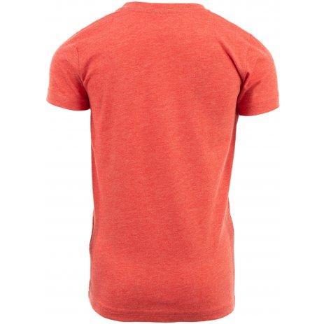 Dětské triko s krátkým rukávem ALPINE PRO ZAKARO KTSN172 ČERVENÁ