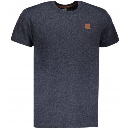 Pánské triko s krátkým rukávem SAM 73 MT 752 TMAVĚ MODRÁ