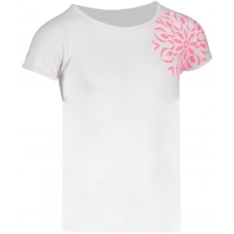 Dívčí triko s krátkým rukávem SAM 73 GT 528 BÍLÁ