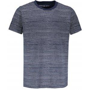 Pánské triko s krátkým rukávem ALPINE PRO ANDRES MTSN444 TMAVĚ MODRÁ