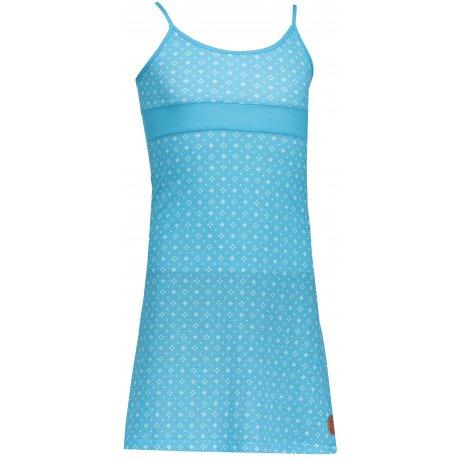 Dívčí šaty SAM 73 GZ 520 NEON MODRÁ