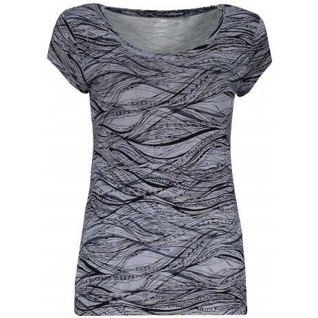 Dámské triko s krátkým rukávem HANNAH MOLVINA ALLOY/ANTHRACITE
