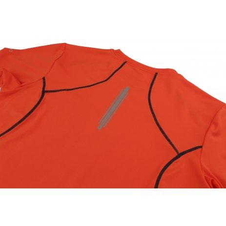 Pánské triko s krátkým rukávem HANNAH PACABA ORANGEADE/NAVY