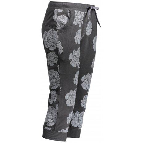 Dámské 3/4 kalhoty SAM 73 EDSA LPAN325 TMAVĚ ŠEDÁ