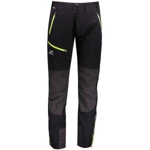 Pánské softshellové kalhoty HANNAH CLAIM ANTHRACITE/GREEN