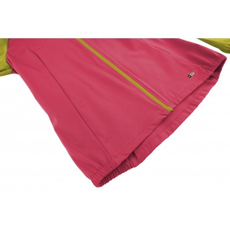 Dámská softshellová bunda HANNAH KEIDIS CITRONELLE/ROUGE RED