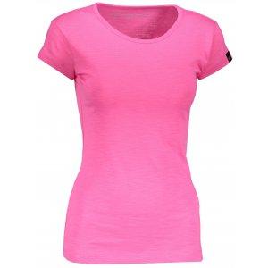 Dámské triko s krátkým rukávem ALPINE PRO ESKA LTSN546 RŮŽOVÁ
