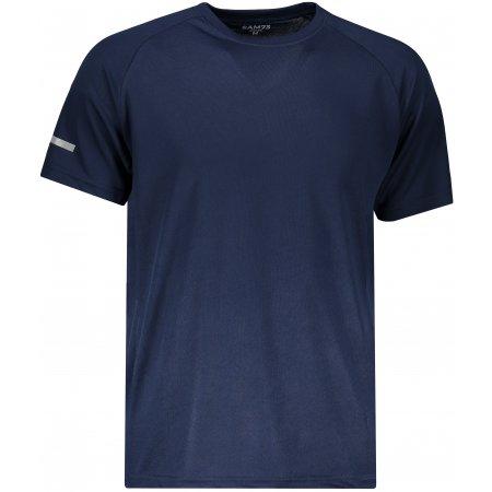 Pánské funkční triko SAM 73 TORYN MTSN392 TMAVĚ MODRÁ