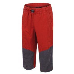 Dětské 3/4 kalhoty HANNAH RUFFY JR KETCHUP/GRAPHITE