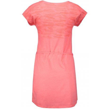 Dámské šaty ICEPEAK MACY 54762668 CORAL/RED