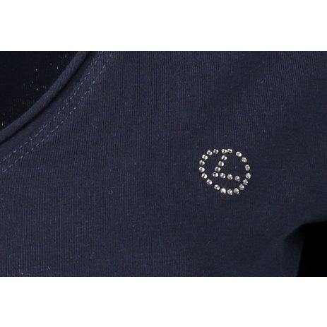Dámské triko LUHTA ELVI 33301591 NAVY BLUE