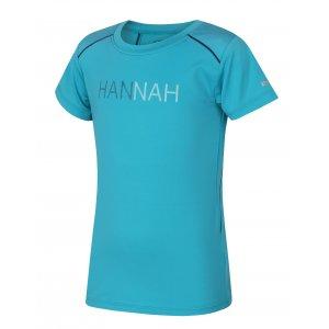 Dívčí funkční triko s krátkým rukávem HANNAH TULMA JR BLUEBIRD