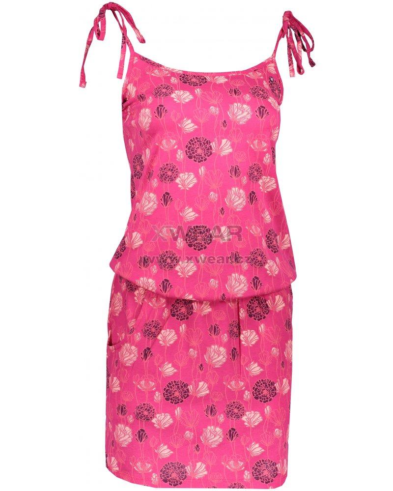 9f112cf3541c Dámské šaty LOAP BAJA CLW1937 RŮŽOVÁ velikost  S   XWEAR.cz