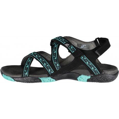 Dámské sandále HANNAH FRIA LADY ELECTRIC GREEN/LEAF
