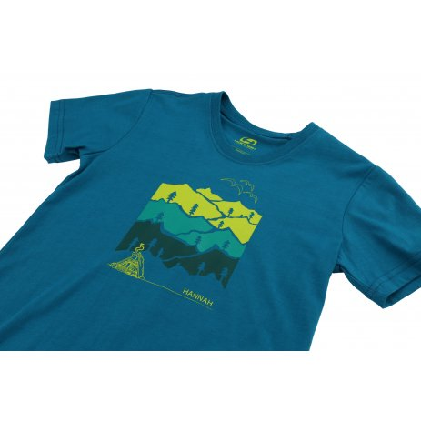 Chlapecké triko s krátkým rukávem HANNAH DARLEY JR MOSAIC BLUE