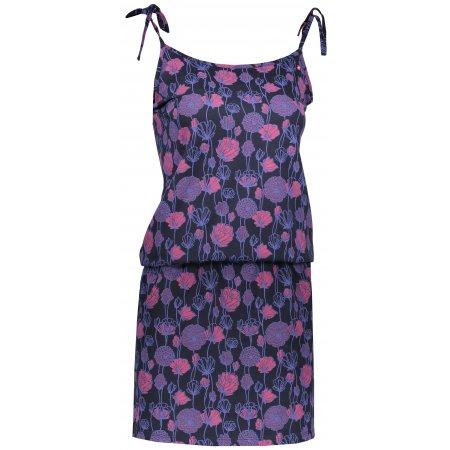 Dámské šaty LOAP BAJA CLW1937 MODRÁ/RŮŽOVÁ