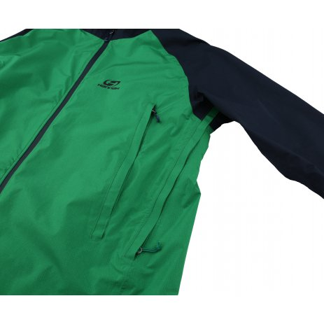 Pánská bunda HANNAH HAKEN BRIGHT GREEN/BLACK IRIS