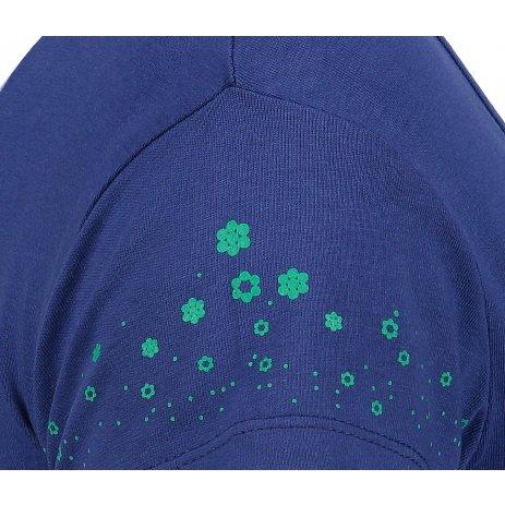 Dámské triko s krátkým rukávem ALTISPORT IHOSA TMAVĚ MODRÁ