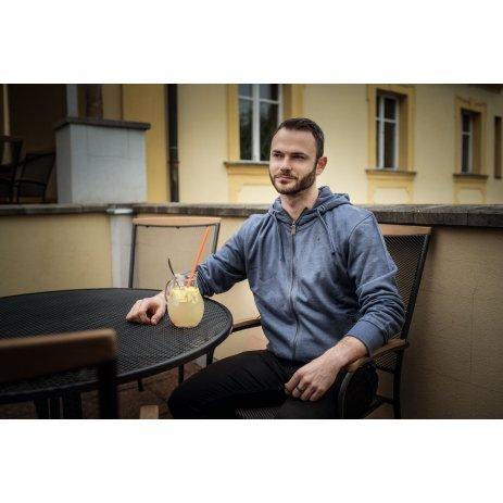 Pánská mikina ALTISPORT HANKEY MODRÁ