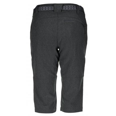 Dámské 3/4 kalhoty KILPI DALARNA-W KL0038KI TMAVĚ ŠEDÁ