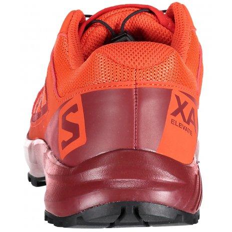 Dětské běžecké boty SALOMON XA ELEVATE J L40480800 CHERRY TOMATO/RED DAHLIA/BLACK