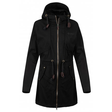 Dámský kabát KILPI PAU-W KL0332KI ČERNÁ