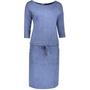 Dámské šaty NUMOCO A13-20 MODRÁ JEANS