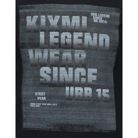 Pánské triko KIXMI ISSER ČERNÁ