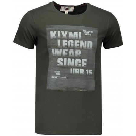 Pánské triko KIXMI ISSER KHAKI