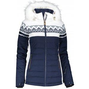 Dámská zimní bunda KIXMI ISADORA TMAVĚ MODRÁ