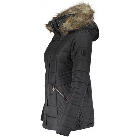 Dámská zimní bunda KIXMI IDALIA ČERNÁ