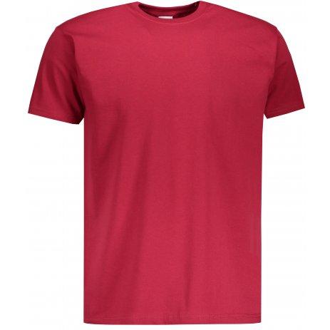 Pánské triko FRUIT OF THE LOOM VALUEWEIGHT T BRICK RED