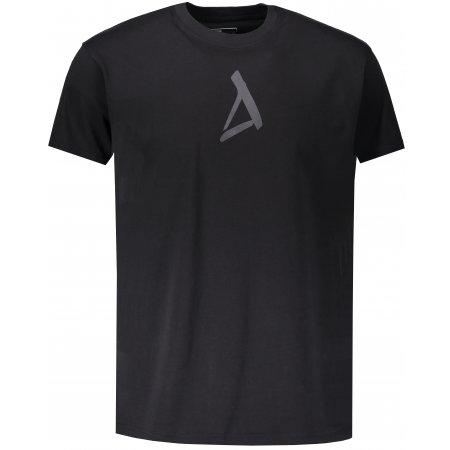 Pánské triko s krátkým rukávem ALTISPORT ZUNO ČERNÁ