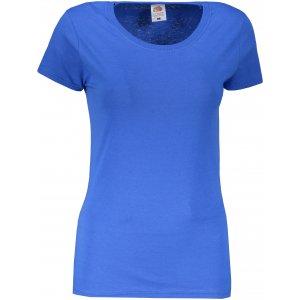Dámské tričko FRUIT OF THE LOOM ORIGINAL ROYAL BLUE