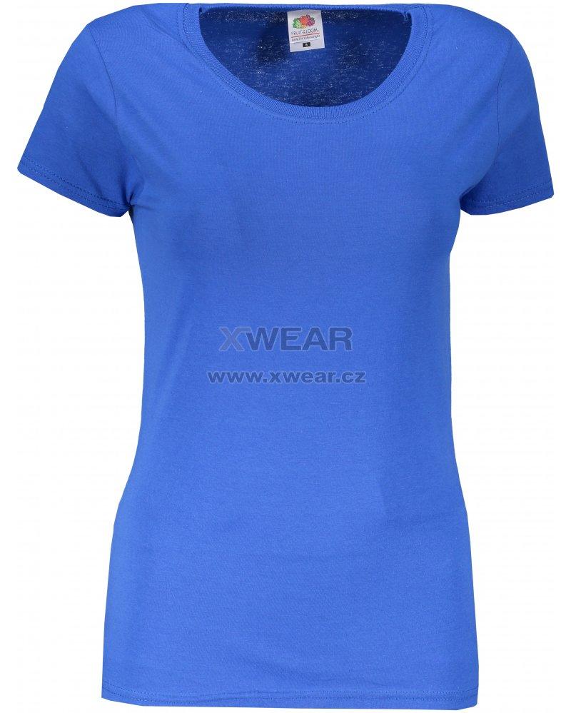 935668280c87 Dámské tričko FRUIT OF THE LOOM ORIGINAL ROYAL BLUE velikost  L ...