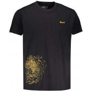 Pánské triko s krátkým rukávem ALTISPORT KAVET ČERNÁ