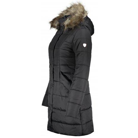 Dámský zimní kabát KIXMI IRMINA ČERNÁ