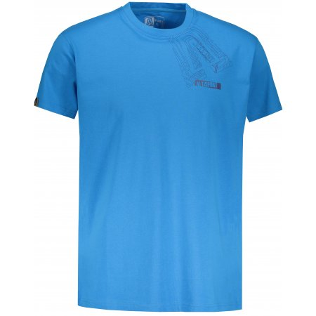 Pánské triko s krátkým rukávem ALTISPORT BEKITRO MODRÁ
