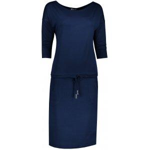 Dámské šaty NUMOCO A13-15 TMAVĚ MODRÁ