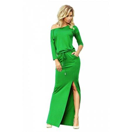 Dámské šaty NUMOCO A220-7 ZELENÁ