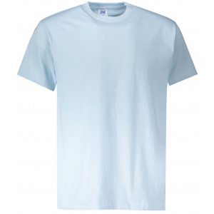 Pánské triko JHK REGULAR SKY BLUE NEON