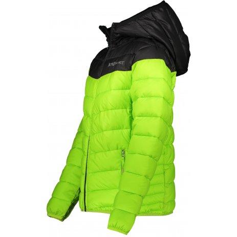 Dětská bunda ALTISPORT ORO KJCP173 SVĚTLE ZELENÁ
