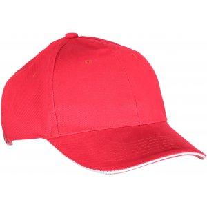 Kšiltovka K-UP ORLANDO RED/WHITE
