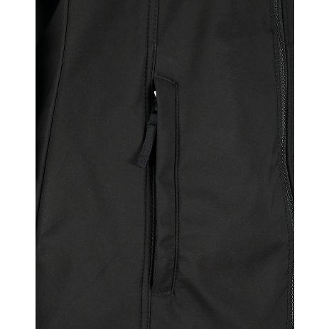 Dámský softshellový kabát ALTISPORT SHOOTA LCTP118 ČERNÁ